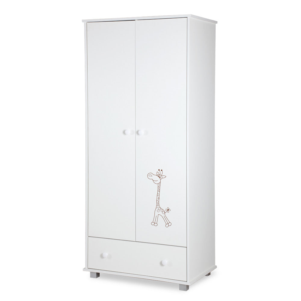SAFARI Giraffe white wardrobe, Little Baby Shop Ltd.