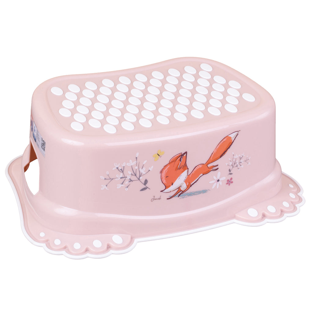 FOREST FAIRYTALE Anti-slip Footstool - pink - Little Baby Shop -