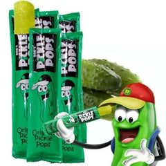 Bobs Pickle Pops Dill Flavor two 6 ct bags 12 pops