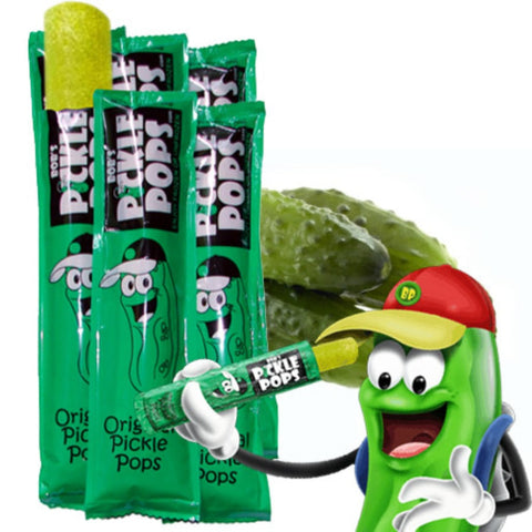 Bobs Pickle Pops Original Dill Flavor 50 Pops
