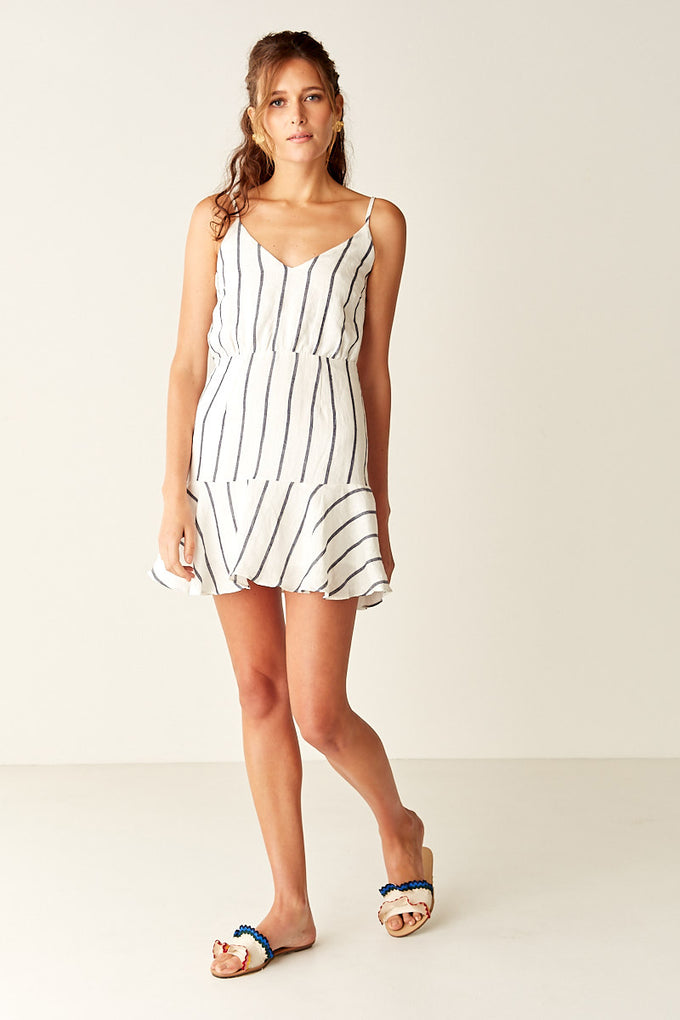 EDEN Tie Back Mini Dress