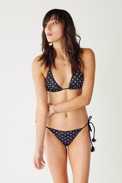 Over & Over String Bikini Top