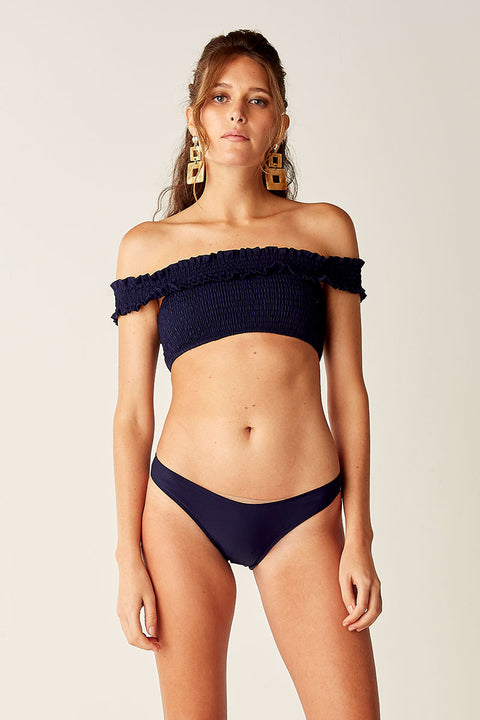 High Cut Bottoms - NAVY