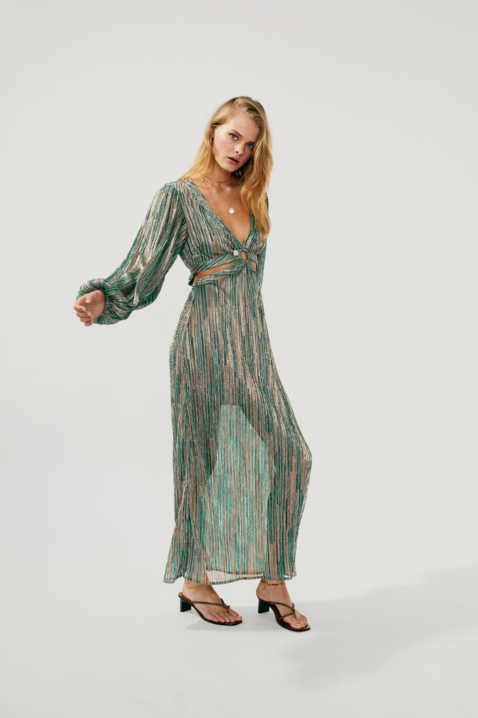 Ana Cut Out Maxi Dress *PRE-ORDER*