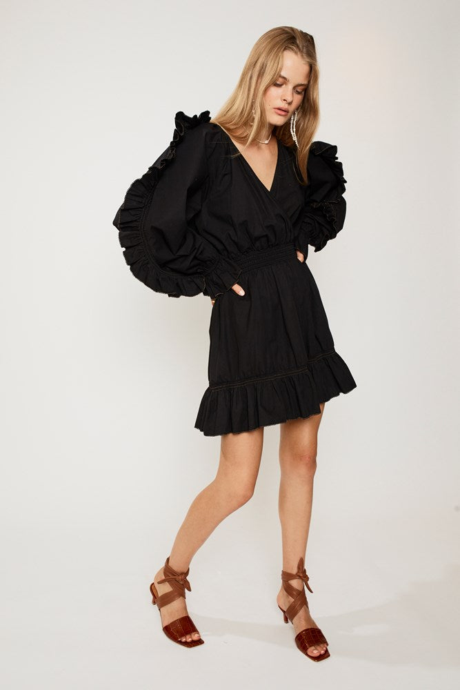 Eden Mini Dress - Black