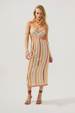 Isabel Knitted Cut Out Dress -PRE-ORDER