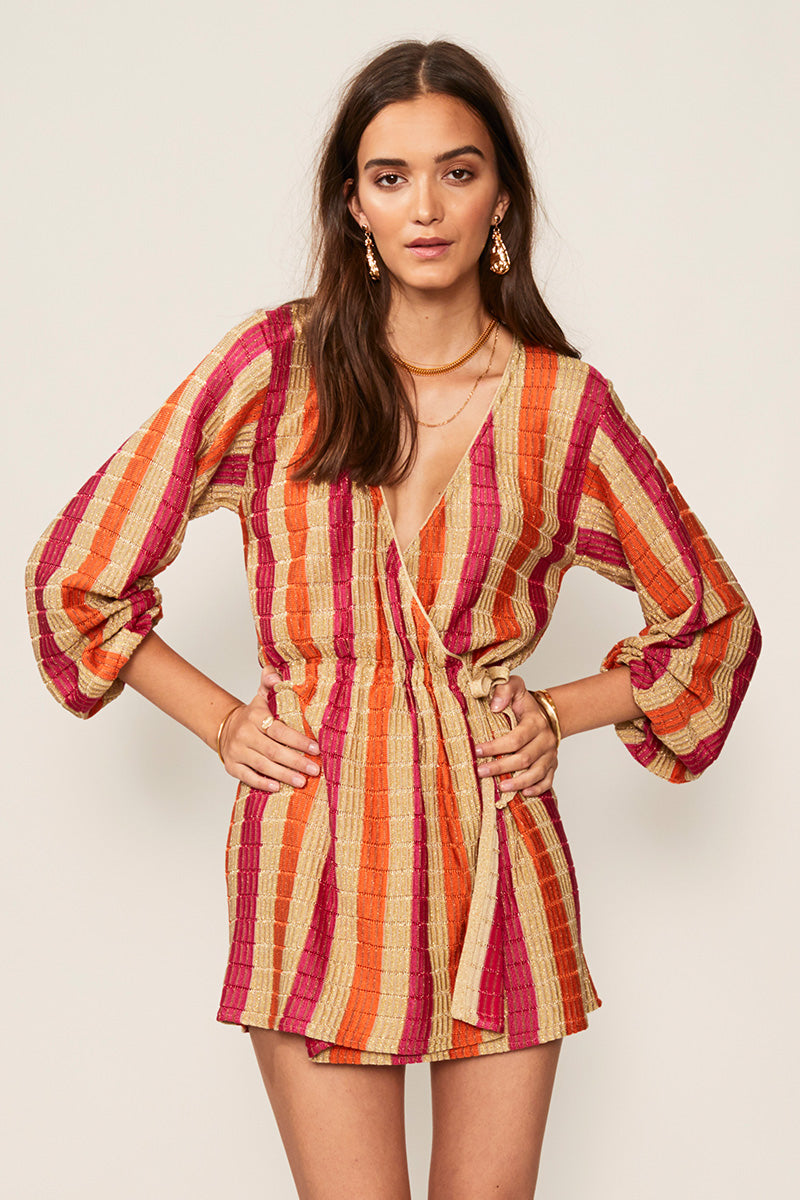 Jacquelyn Knit Wrap Dress