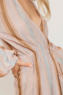 Luella Knitted Wrap Dress