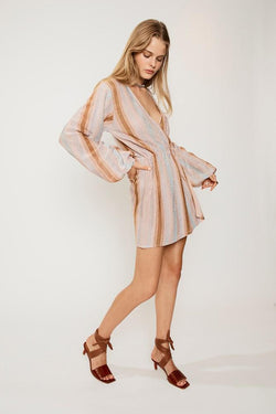 SUBOO Luella Knitted Wrap Dress