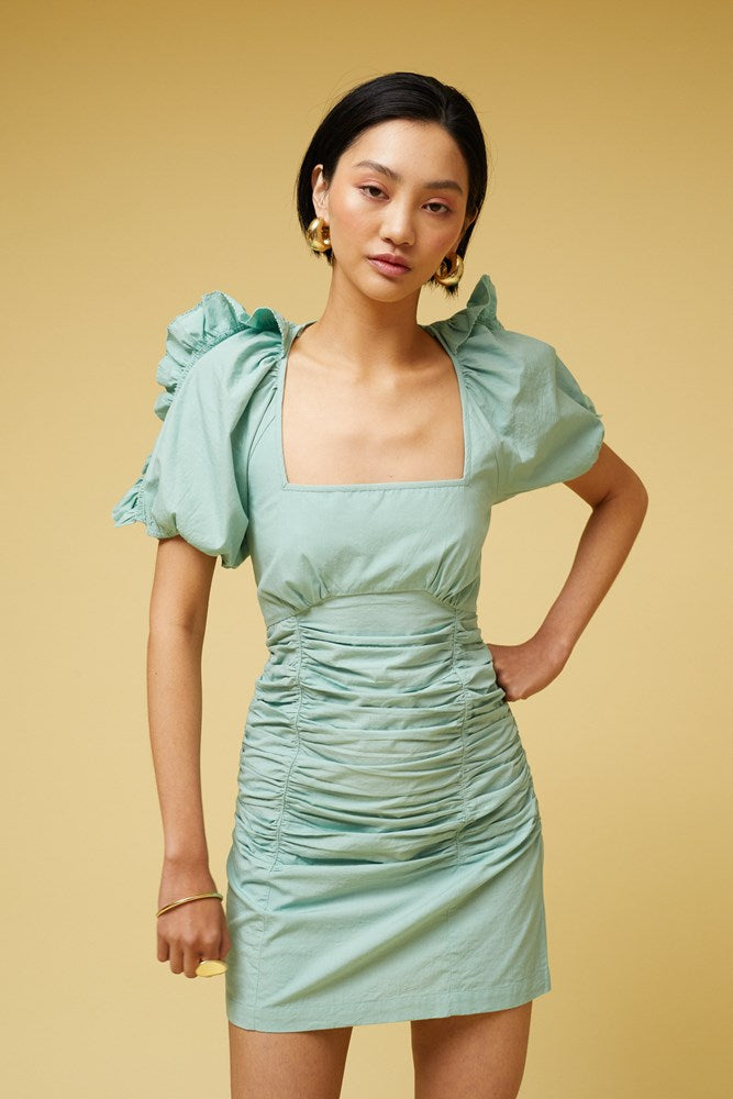 Saga Mini Dress - Mint