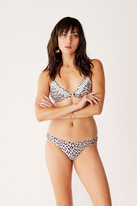Splice Bikini Top - This Love - Leopard
