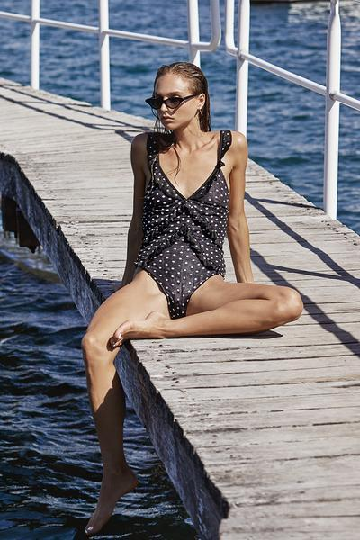 Over & Over Frill One Piece
