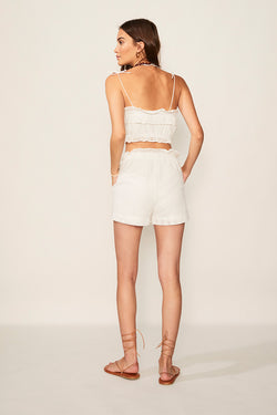 Edie Ruffle Lace Short