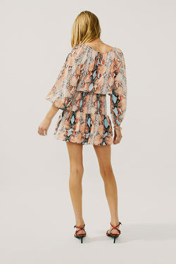 Frida Shirred Mini Dress