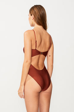Gaby Ring Front One Piece - Copper