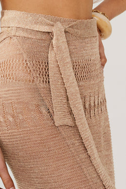 Harper Knit Wrap Skirt
