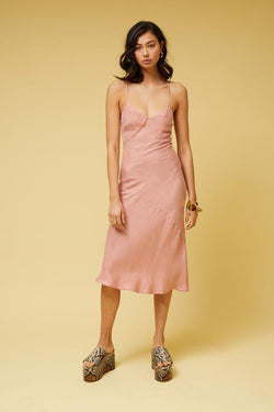 Ilya Slip Dress - Nude Pink