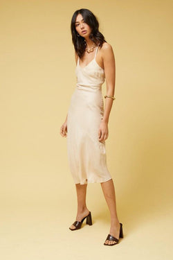Ilya Slip Dress - Pearl