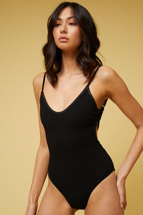 Kaia Scoop One Piece - Black