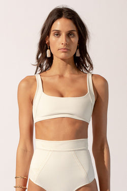 Kaia Square Neck Top