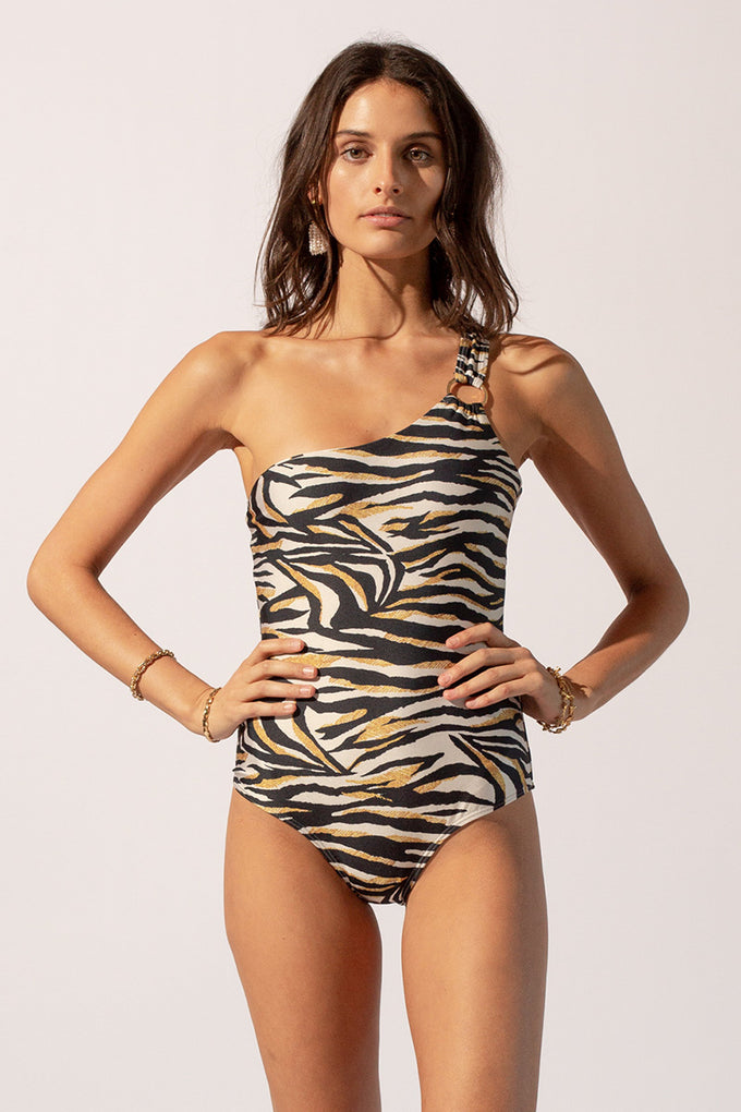 Leila One Shoulder One Piece