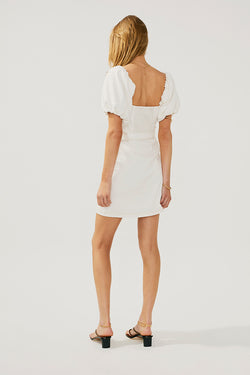 Lila Sleeved Mini Dress