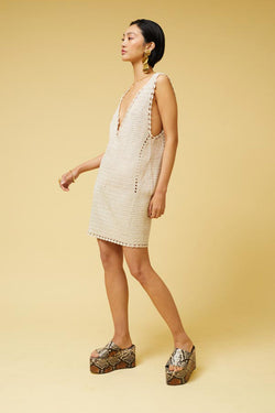 Pia Crochet Cover Up