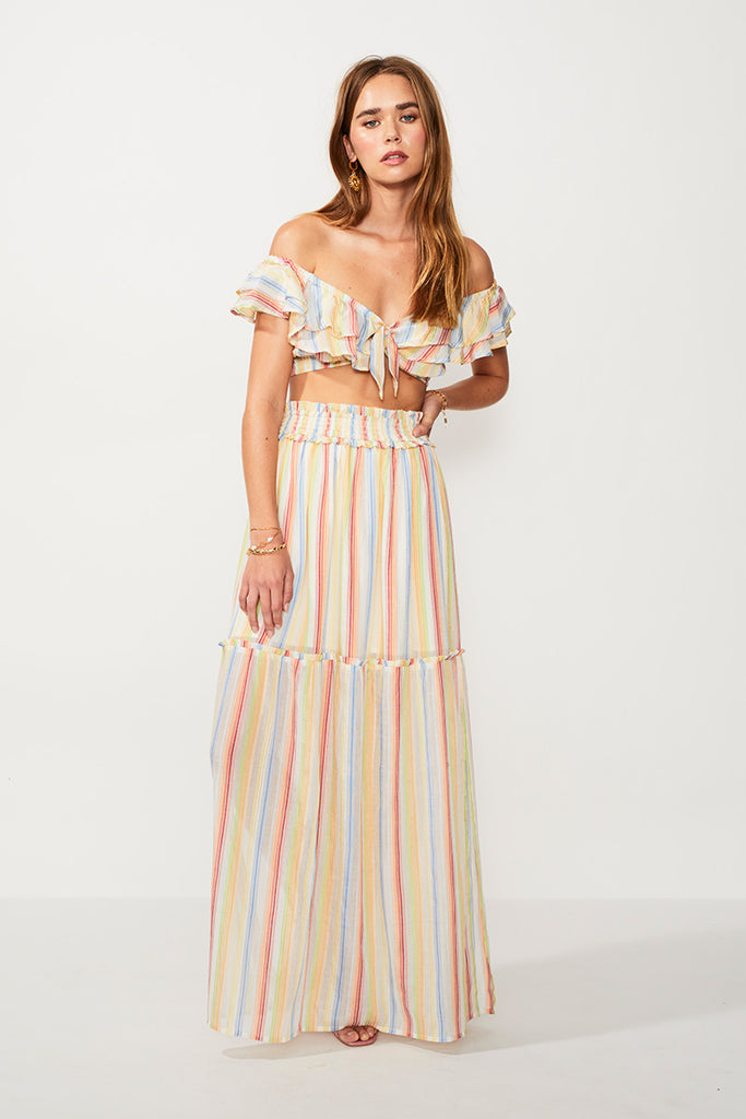 Playhouse Maxi Skirt - Multi