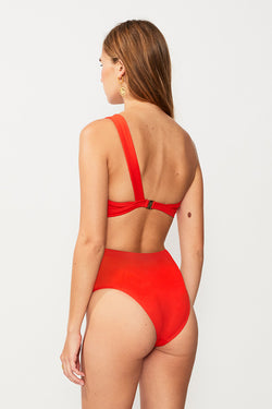 Rocky High Waisted Bottom - Tangerine