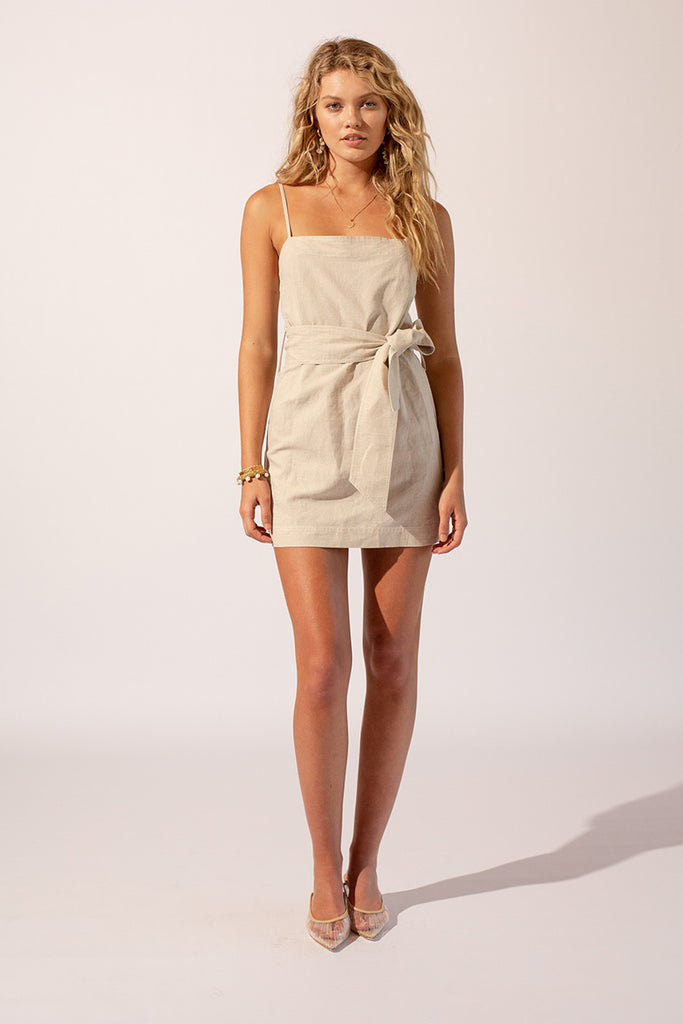 Sandy Belted Mini Dress