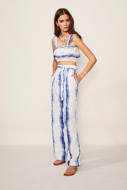 Estelle Wide Leg Tie Pants