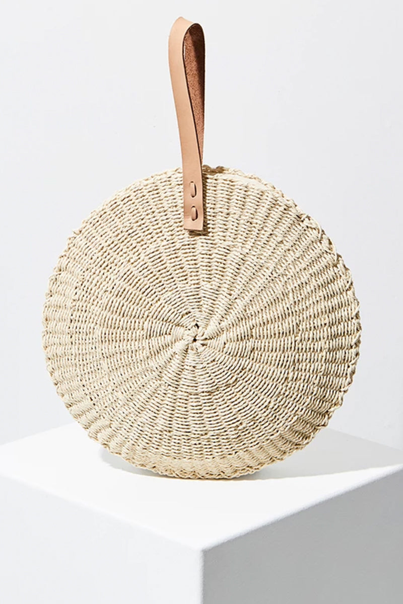 Beach People Scallop Midi Bag - Natural