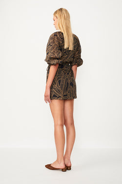 Zephora Wrap Dress - Zephora Print