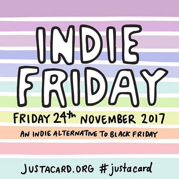 It's all about Indie Friday now guys!