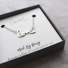 Memorial Handwriting Necklace