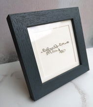 handwriting memorial gift