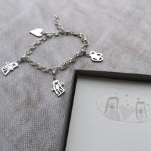 Actual Drawing Charm Bracelet UK