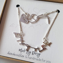 Personalised handwriting keepsake jewellery