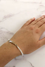 Handwriting Bracelet with Gemstones