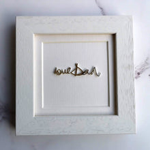 memorial jewellery framed