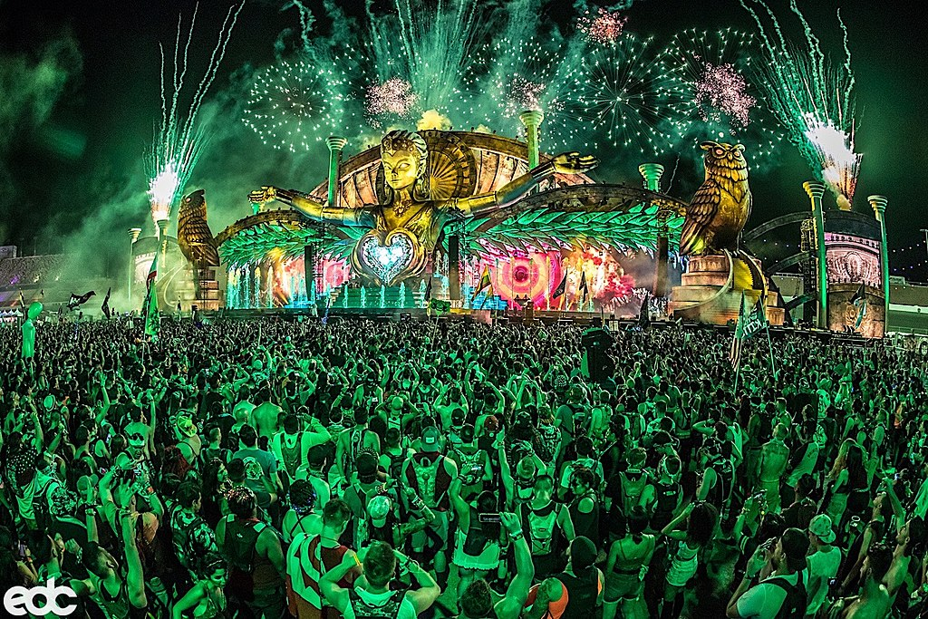 Electric Daisy Carnival, Las Vegas, Nevada, Electronic Music Festival