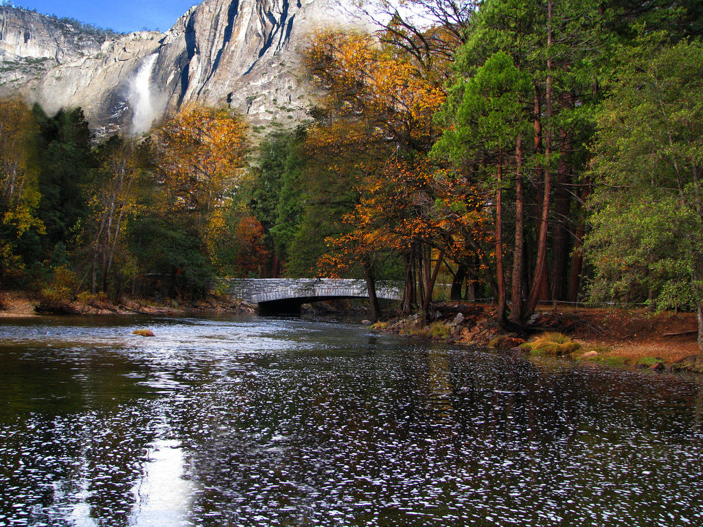 The Merced River, California, USA, River Float Destination