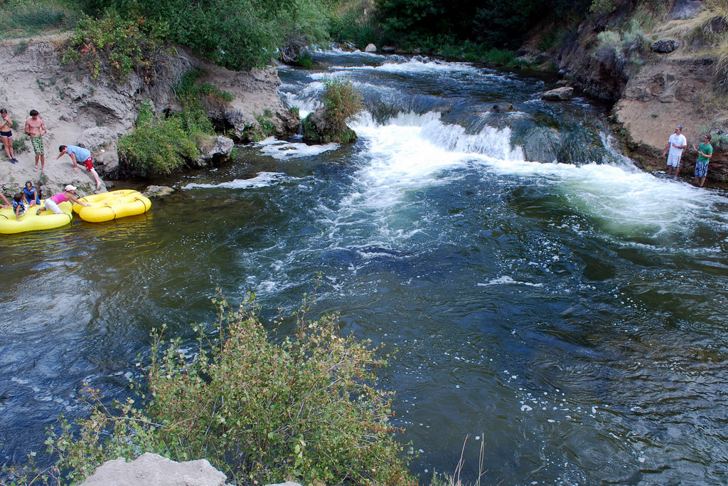 The Portneuf River, Idaho, USA, Best River Float