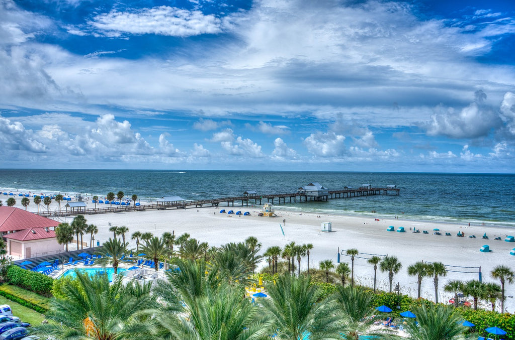Clearwater Beach Florida East Coast USA America