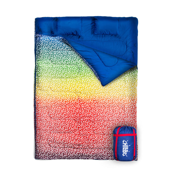 chillbo-double-sleeping-bags-for-adults - Rainbow Swizzle