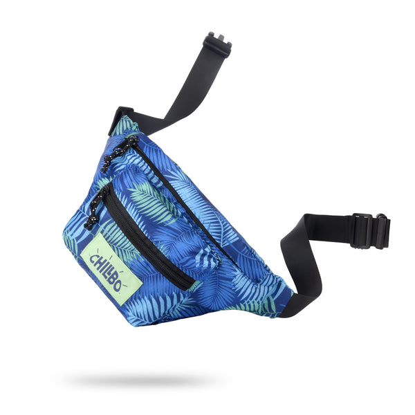chillbo-fanny-packs-festival-bum-bag - Blue Leaf
