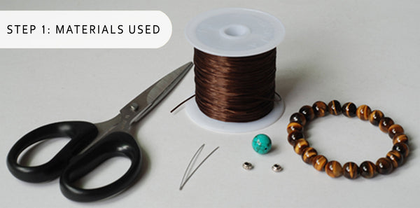 Step 1 Elastic Bracelet Alteration Kit by Gem and Silver