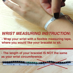 Wrist Measuring Instructions