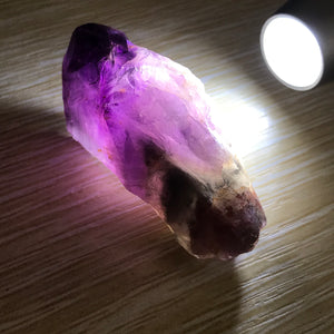 ONLY 1 AVAILABLE - 24.3g Genuine Highest Grade Auralite-23 Crystal | Spiritual Cleansing Healing Tool | Highest Vibration Seeker Transformer Crystal for Powerful Pocket Protection and Healing Chakra Meditation