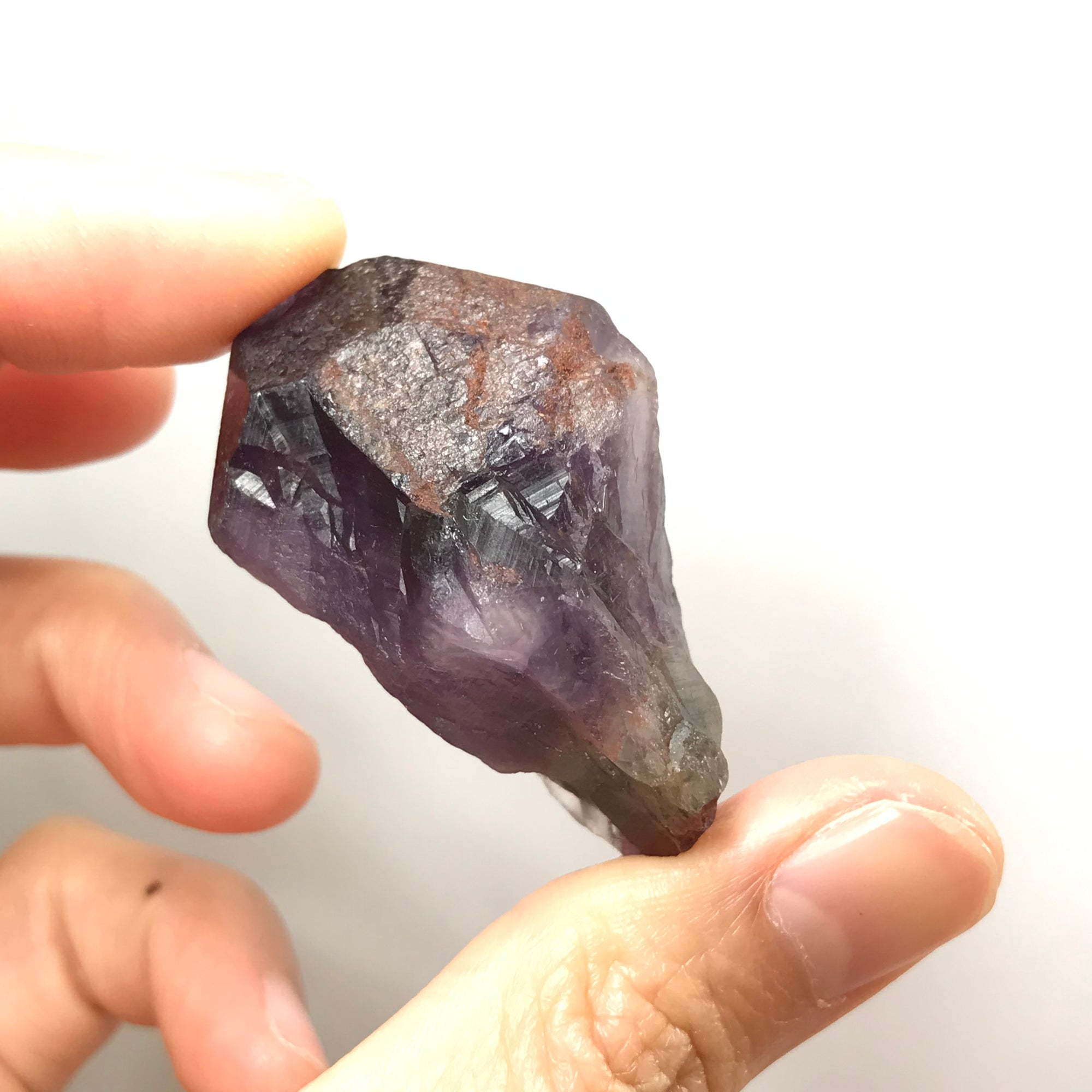 ONLY 1 AVAILABLE - 23.2g Genuine Highest Grade Raw Auralite-23 Crystal | Spiritual Cleansing Healing Tool | Highest Vibration Seeker Transformer Crystal for Powerful Pocket Protection and Healing Chakra Meditation